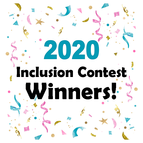 2020 Inclusion Winners confetti